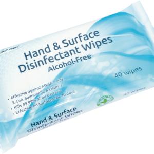 Birmingham Optical dual purpose disinfectant wipe