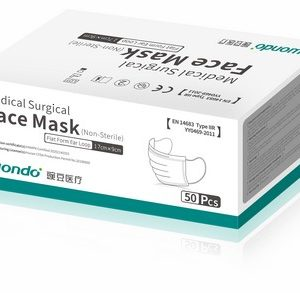 Disposable Class 1 Face Mask (Type IIR, 50 pack)